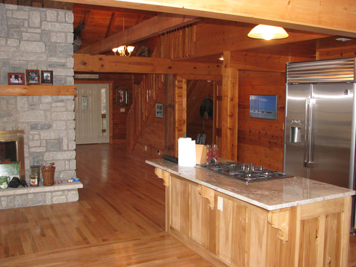 Interior Images Landmark Log Homes