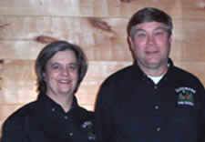 Bruce and Judy Sweeney, Landmark Log Homes Corporate
