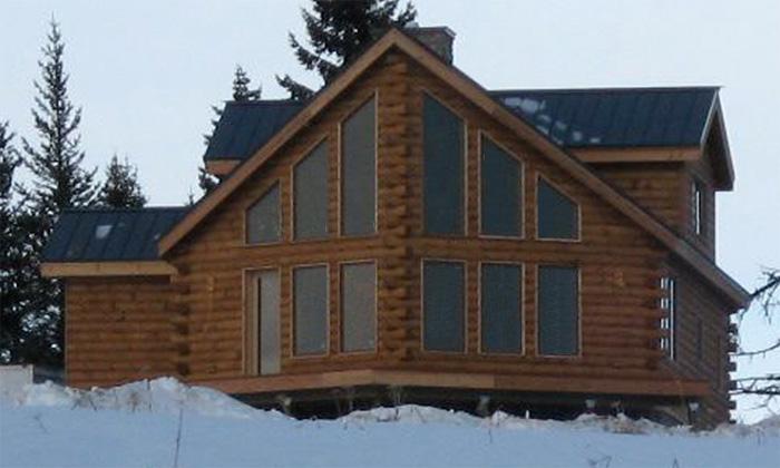 Landmark log homes floor plans featured for Alaska log home plans