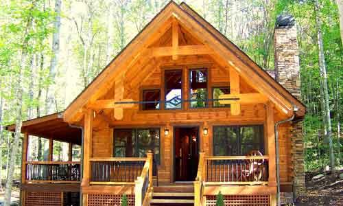 Whittier Profile Landmark Log Homes
